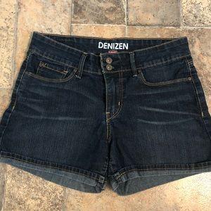 Cuffed jean shorts-size 4 denizen from Levi's